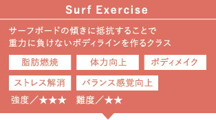 ≫Surf Exercise