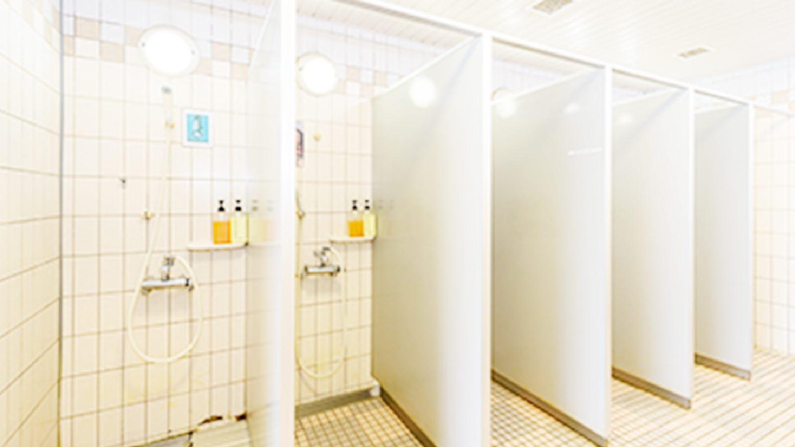 八王子店のシャワー