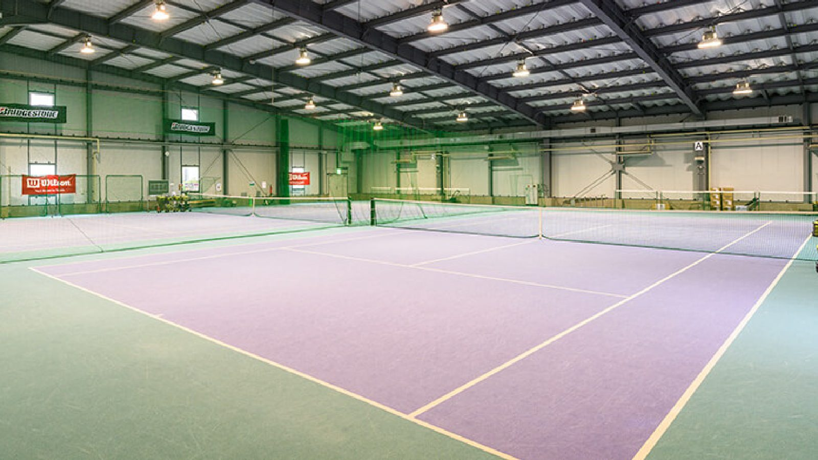 浜松市野店のテニスコート