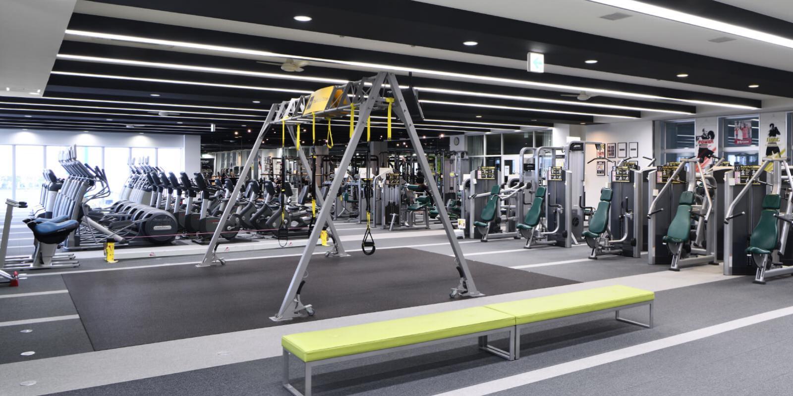 浜松市野店のトレーニングマシン