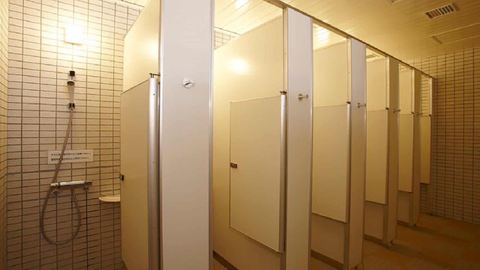 上永谷店のシャワー