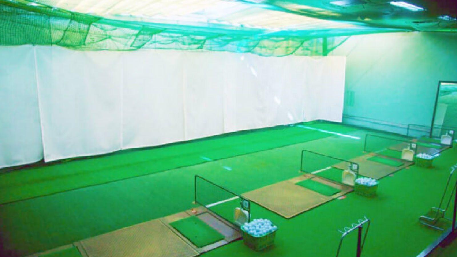 神奈川店のゴルフレンジ