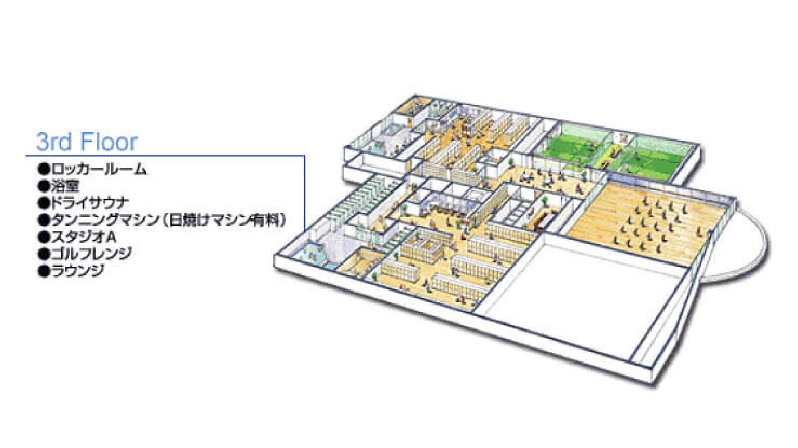 吉祥寺店のフロアガイド3