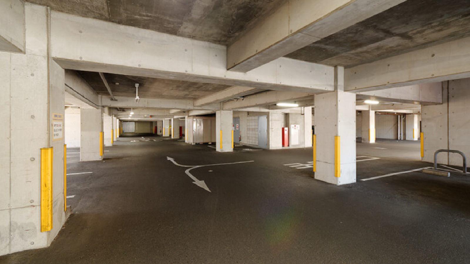 大和店の駐車場